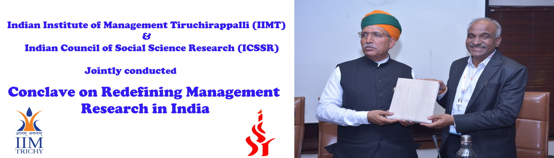 Conclave on Redefining Management Research in India
