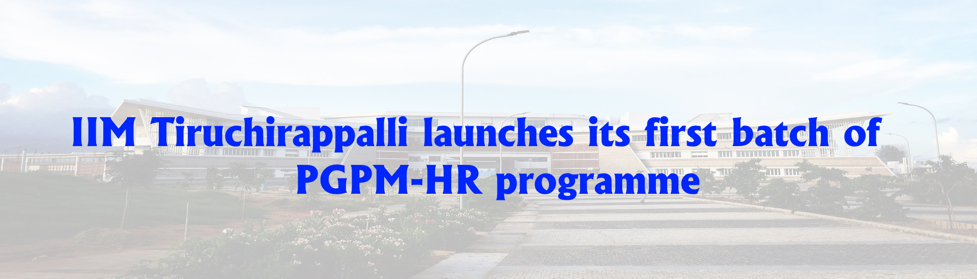 PGPM-HR Programme