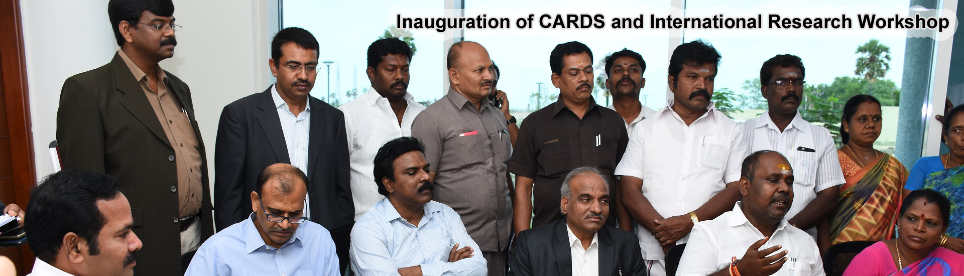 Inauguration of CARDS and International Research Workshop