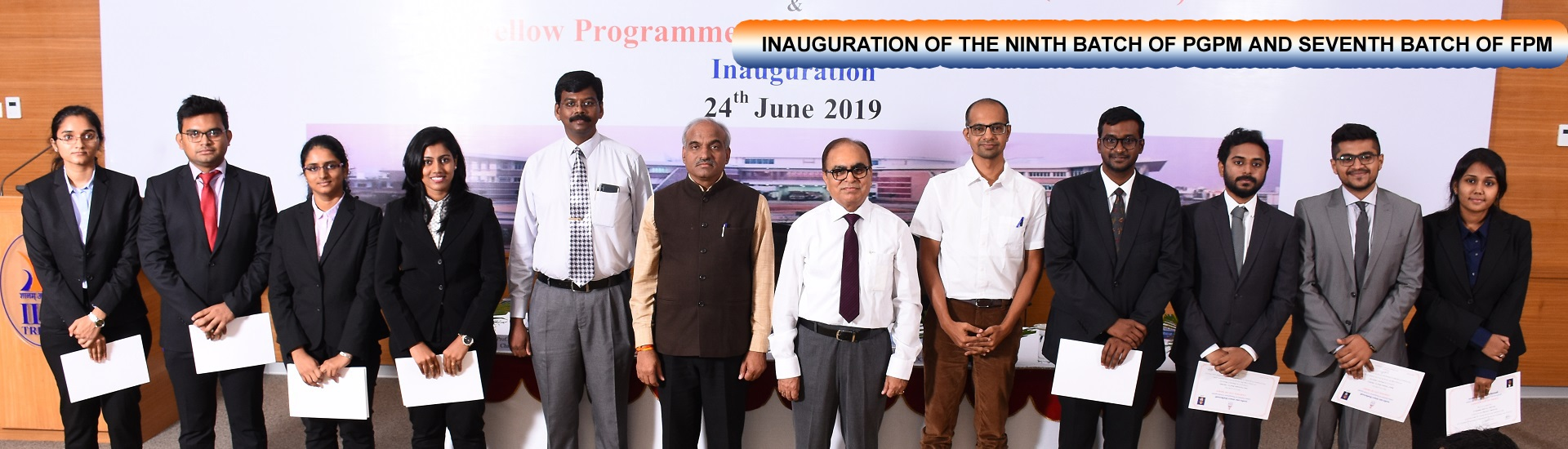 PGPM Inauguration 2019